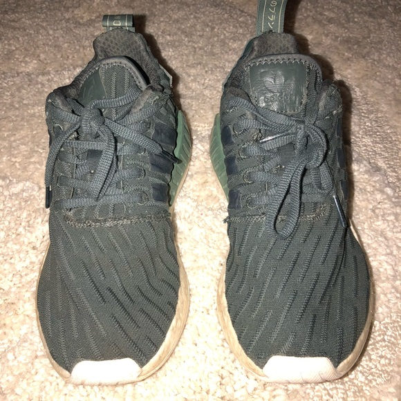 d3a0a2507 adidas Shoes - Adidas NMD R2 army green women s